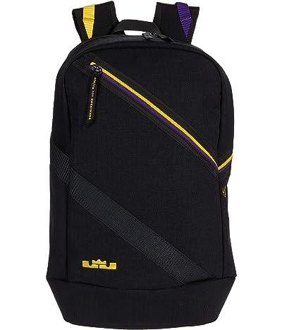 Nike Lebron Backpack (Black/Court Purple/Amarillo) Backpack Bags