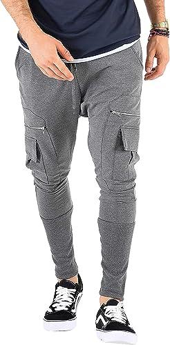 VSCT-Clubwear Homme Pantalons voiturego Faible Crougech Slim Leg voiturego