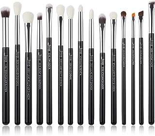 Jessup 15Pcs Professional Makeup Brushes Make up Brush Set Cosmetics Tools Eye Liner Shader Wood Handle Natural-synthetic ...