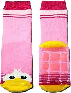 Weri Spezials - Calzini per bambini con paperella in ABS, colore: rosa/rosa scuro