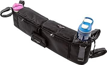 StrollAir Universal Twin/Double Stroller Organizer/Parent Console, Black