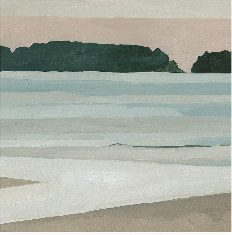 Trademark Fine Art Coastal Lines III by Emma Scarvey, 14x14