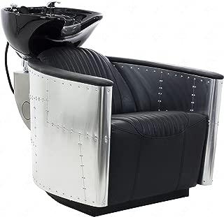 white shampoo chair