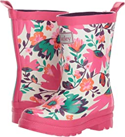 Hatley Kids - Tortuga Bay Floral Rain Boots (Toddler/Little Kid)