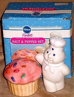 Pillsbury Doughboy Funfetti Salt an Pepper Shaker