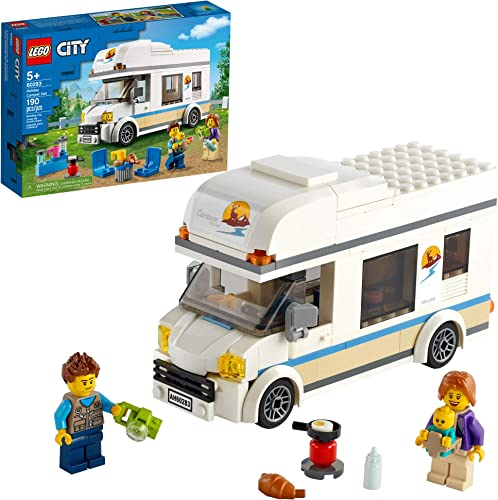 wholesale LEGO City Holiday Camper Van 60283 Building online sale Kit; Cool Vacation Toy for online Kids, New 2021 (190 Pieces) sale