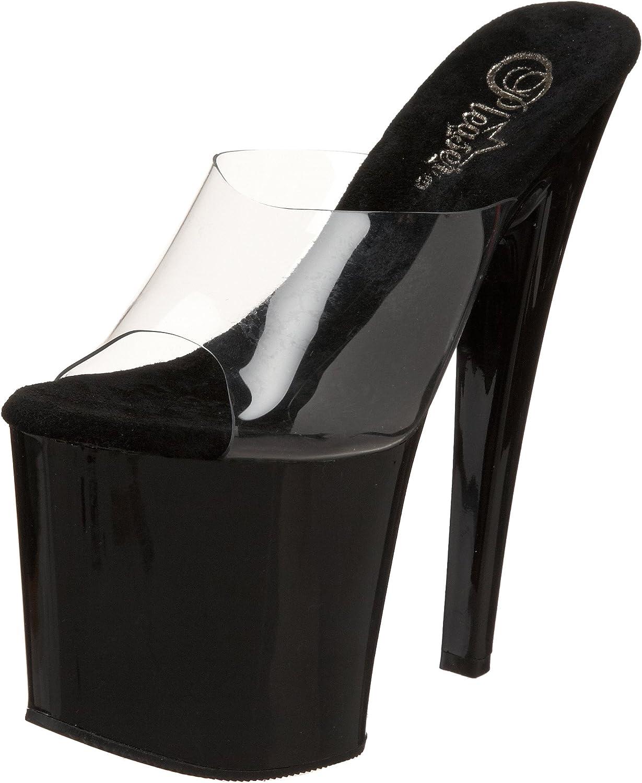 Pleaser Women's Taboo-701CB Platform Sandal
