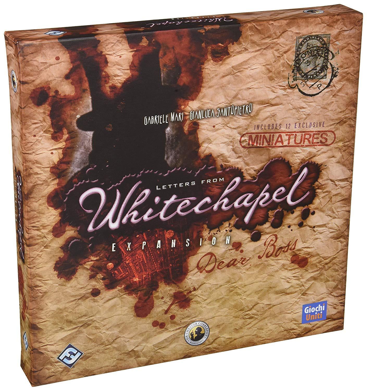 Fantasy Flight Games Letters from Whitechapel Dear Boss - English: Amazon.es: Juguetes y juegos
