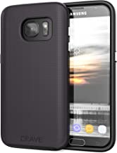 Crave Galaxy S7 Case Dual Guard Protection Series Case for Samsung Galaxy S7 - Black