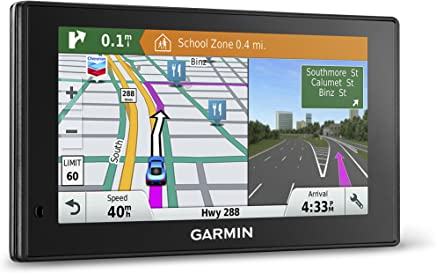 Garmin DriveSmart 60 NA LMT GPS Navigator System with Lifetime Maps and Traffic, Smart Notifications