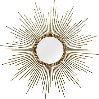 Stratton Home Decor S01029 Andrea Wall Mirror, 26.00 W x 1.25 D x 26.00 H, Gold