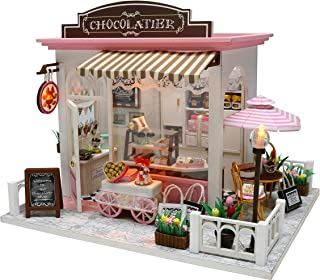 Cocoa's Fantastic Ideas - Miniature Dollhouse DIY kit, Mini House Assembly kit
