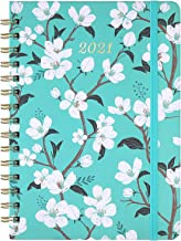 "2021 Planner - Weekly & Monthly Planner with Tabs, 6.3"" x 8.4"", Jan 2021 - Dec 2021, Hardcover with Back Pocket + Thick Pa..."