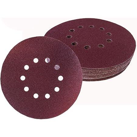 332PageAnn Lot de 10 Disques de abrasifs /à lamelles Professionnels 115mm 4.5 Disques de pon/çage en oxyde de Zirconium pour 40//60//80//120 Grain Meules Lames Angle Grinder