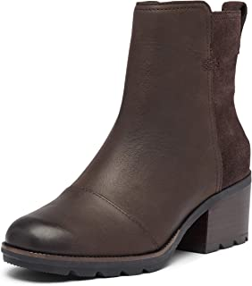 Sorel - Women's Cate Bootie Waterproof Ankle Boot with Stacked Heel
