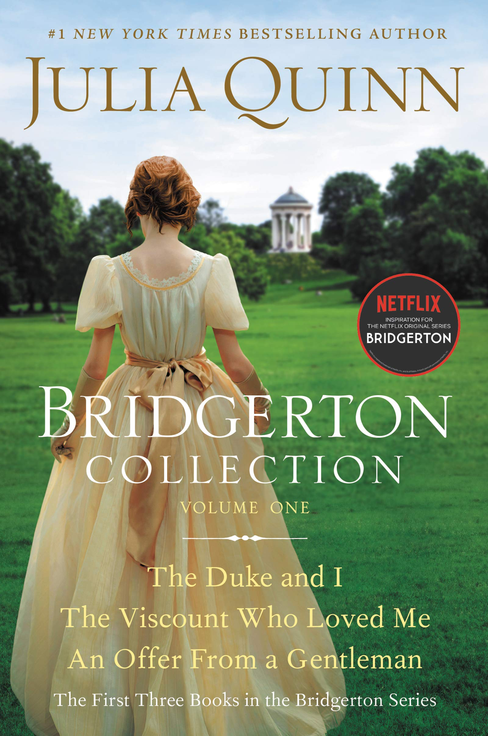 Cover image of Bridgerton Collection Volume 1: The First Three Books in the Bridgerton Series by Julia Quinn