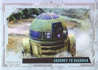 2017 Topps Star Wars Masterwork Adventures of R2-D2 Rainbow Foil Insert Card #AR-8 /565