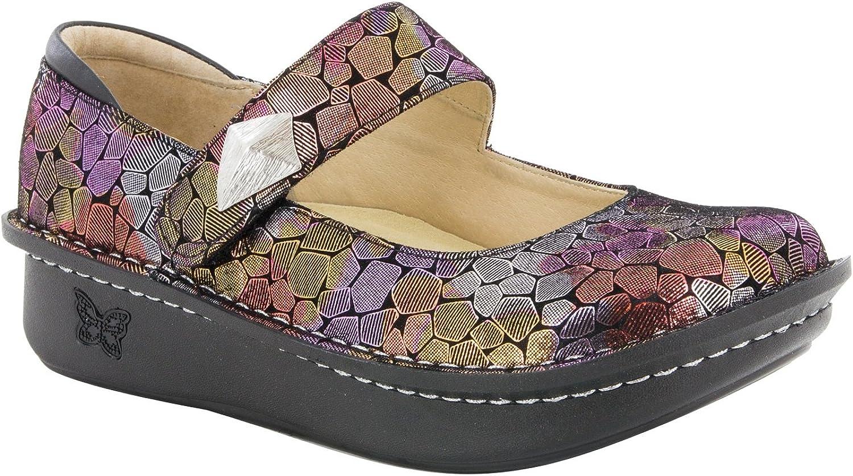 Women's Alegria, Paloma Maryjane shoes Wide Width BRICK 3.9 M