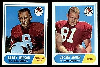 1968 Topps St. Louis Cardinals Football Team Set St. Louis Cardinals-FB (Baseball Set) Dean`s Cards 7.5 - NM+ Cardinals-FB