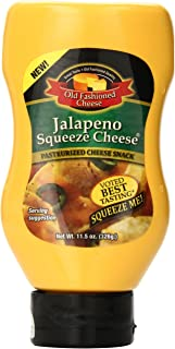 Old Fashioned Cheese Jalapeno Squeeze Cheese, 11.5 Ounce