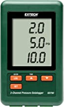 Extech 3 通道压力数据记录器,带 Nist SD750
