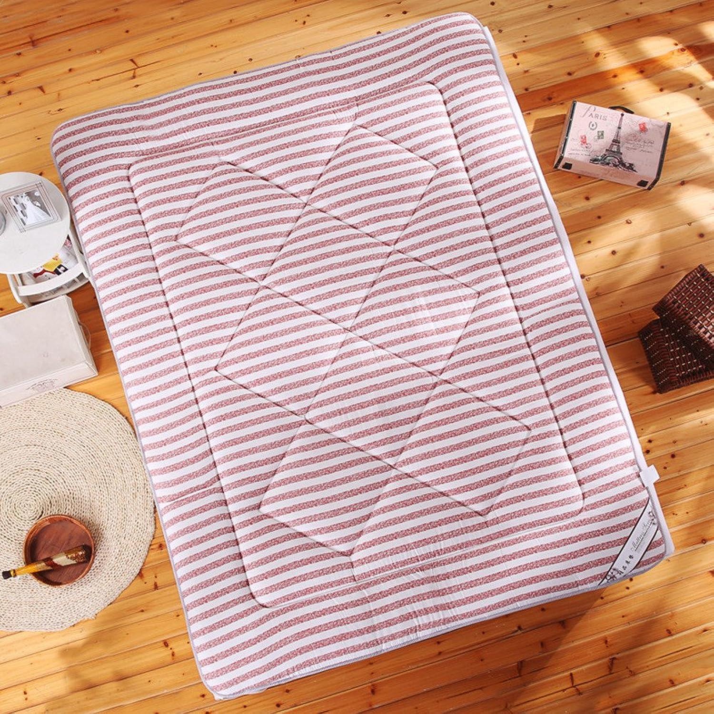 Cotton Mattress Tatami Mattress Folding Non-Slip Mattress Single Double Bed mat Mattress-A 90x200cm(35x79inch)