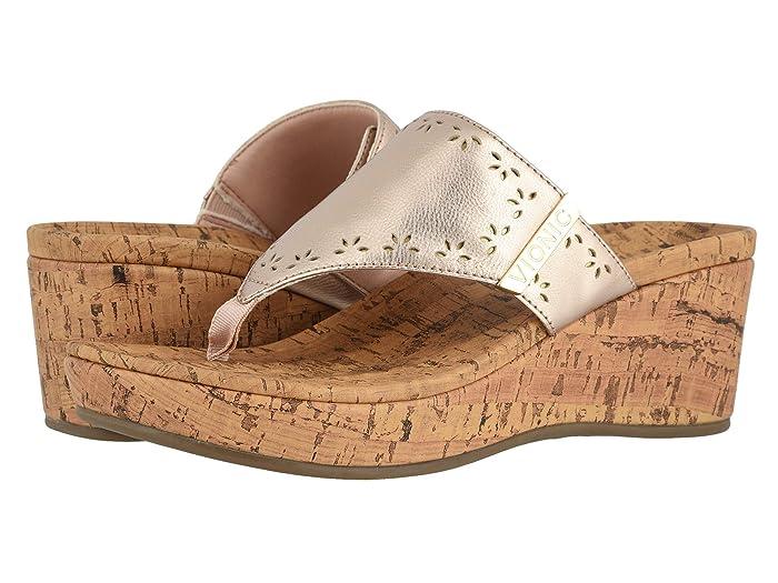VIONIC  Anitra (Rose Gold Metallic) Womens Shoes