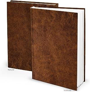 XXL Notizbuch DIN A4 Tagebuch Gästebuch Rezept-Buch gebunde