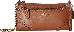 Grain Leather Mickie Crossbody