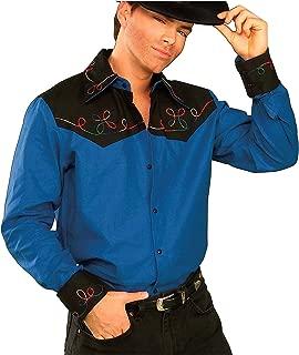 Forum Novelties Men's Cowboy Costume Shirt