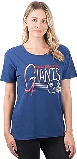 Ultra Game NFL Women's S/S Scoop Tee Shirt w/ Logo
