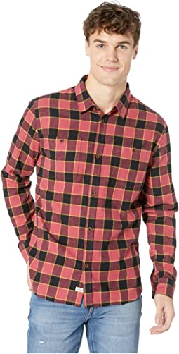 Cold March Long Sleeve Flannel Shirt