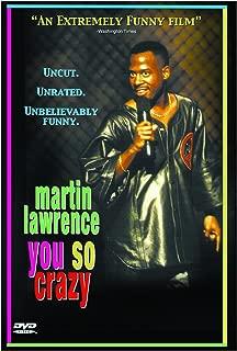 MARTIN LAWRENCE:YOU SO CRAZY (DVD)