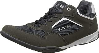 Liberty Gliders Mens Sports Grey Lacing Shoes