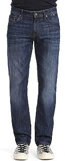 Men's Zach Regular-Rise Straight-Leg Jeans, Dark Maui, 40W X 36L