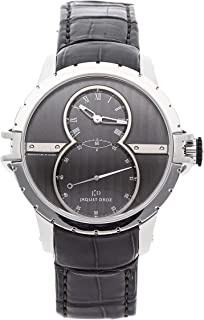 Jaquet Droz Grande Seconde Mechanical (Automatic) Grey Dial Mens Watch J029020243 (Certified Pre-Owned)