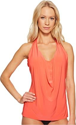 Solid Sophie Underwire Tankini Top