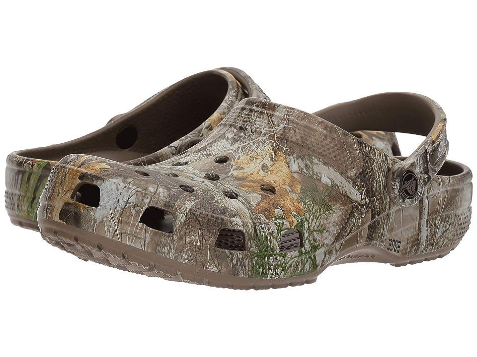 Crocs Classic Realree Edge Clog (Walnut) Shoes