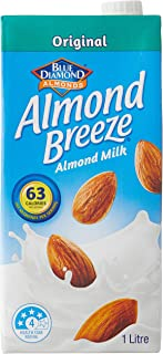 Almond Breeze Original Almond Milk, 1L (Pack of 8)
