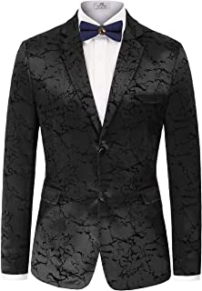 Men's Stylish Slim Fit Luxury Jacquard Suit Blazer