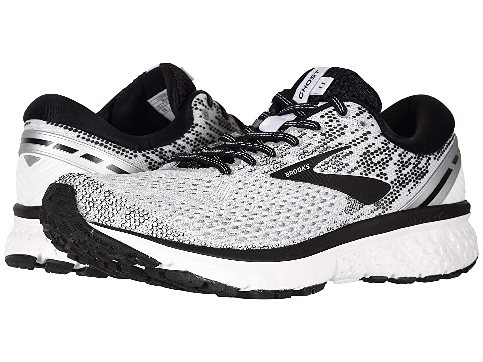 f921ccde0e9 Brooks Ghost 11 (White Black White) Men s Running Shoes