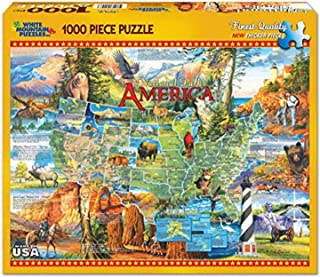 White Mountain Puzzles National Parks- 1000 Piece Jigsaw Puzzle