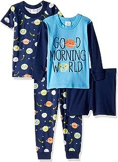Baby Boys' 4-Piece Pajama Set