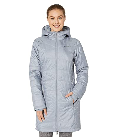 Columbia Mighty Litetm Hooded Jacket (Tradewinds Grey) Women