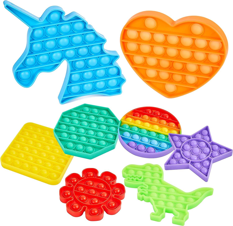 ROYAL SAPPER Push pop Bubble Fidget Pack Toy Silicone Sens Max 90% Sales for sale OFF 8 of