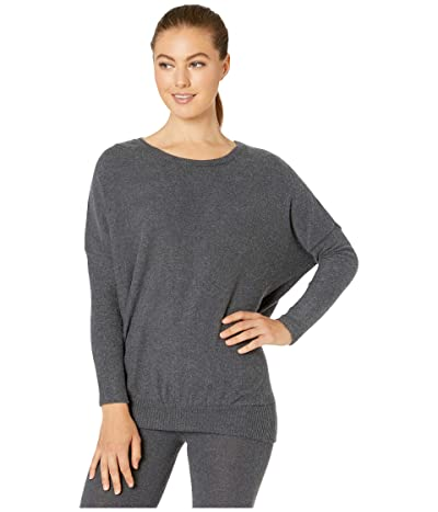 Eberjey Cozy Time The Cozy Top (Charcoal Heather) Women