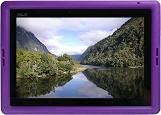 Bobj Rugged Case for ASUS Transformer Pad Models TF103C, K010, TF103CE, K010E, TF103CX, TF0310 - BobjGear Custom Fit - Patented Venting - Sound Amplification - Kid Friendly (Playful Purple)