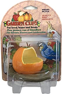 Penn-Plax Garden Cups – for Seed, Water, and Treats – Great for Small and Young Birds (Parakeets/Budgies, Parrotlets, Cockatiels, Canaries, Finches)