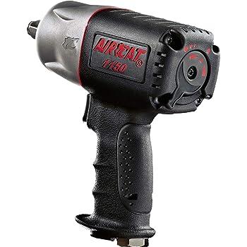 "AIRCAT 1150 ""Killer Torque"" 1/2-Inch Impact Wrench, Medium, Black"