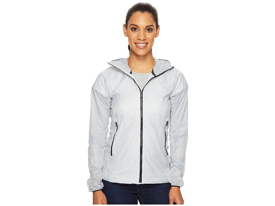 Image of adidas Outdoor Agravic Alpha Shield Hoodie (Clear Onix) Women's Sweatshirt